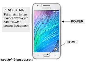 Cara Screenshot Samsung Galaxy J1 Cepat dan Mudah