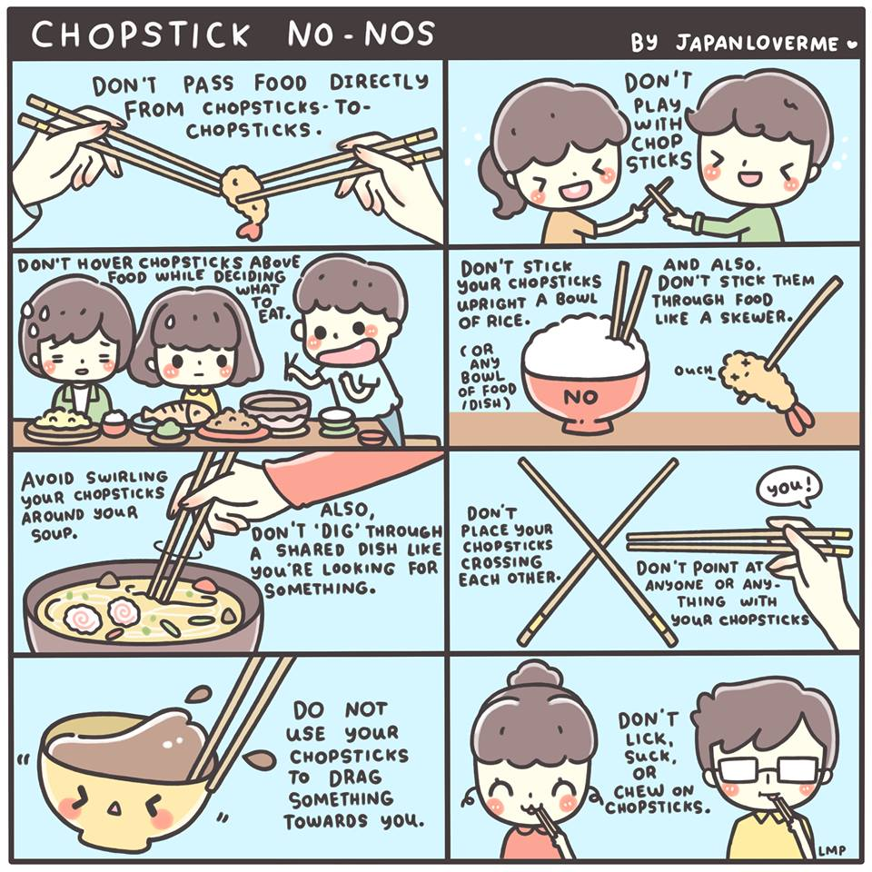 This Is NOT A Job For Superheroes: Chopsticks Tips