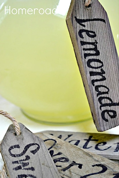 How to Make Repurposed DIY Rustic Beverage Tags. Homeroad.net