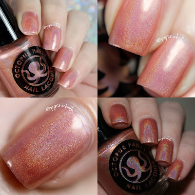 Octopus Party Nail Lacquer  Viceroy Conch