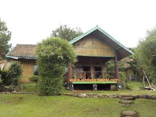 villa di ciater murah pemandian air panas