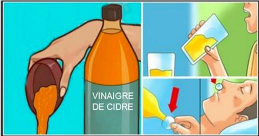 Boire du vinaigre de cidre avant le coucher changera votre vie pour de bon !