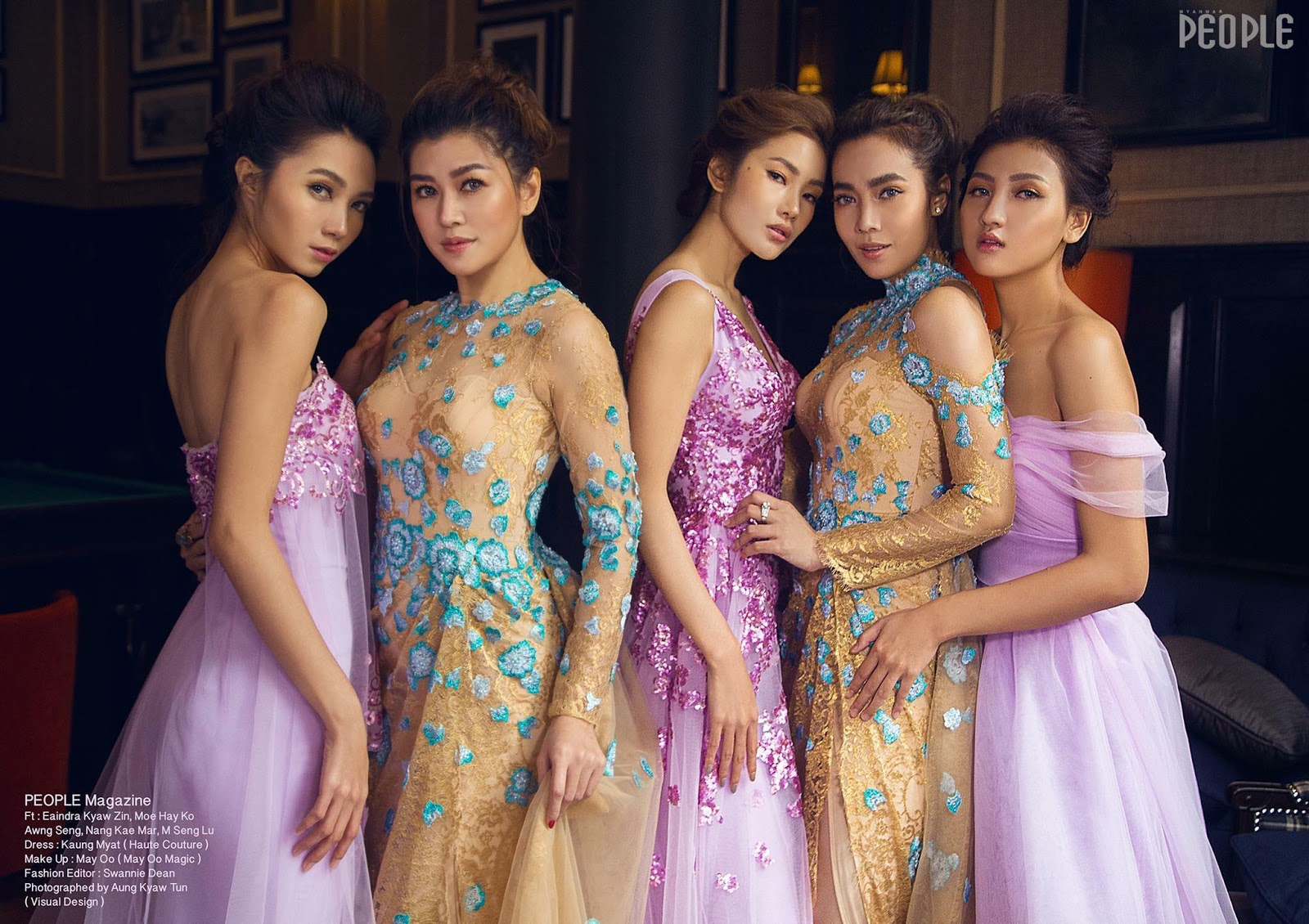 People Magazine Cover Photoshoot By Star Models Myanmar Celebrity Photo Albums