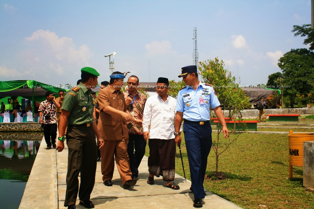 Walikota Tasikmalaya bersama Forum Komunikasi dan Konsultasi Daerah Meninjau Taman Dadah