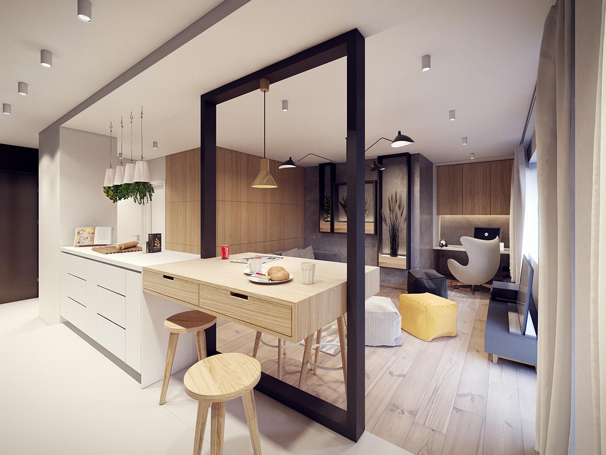 Kis lakás berendezése