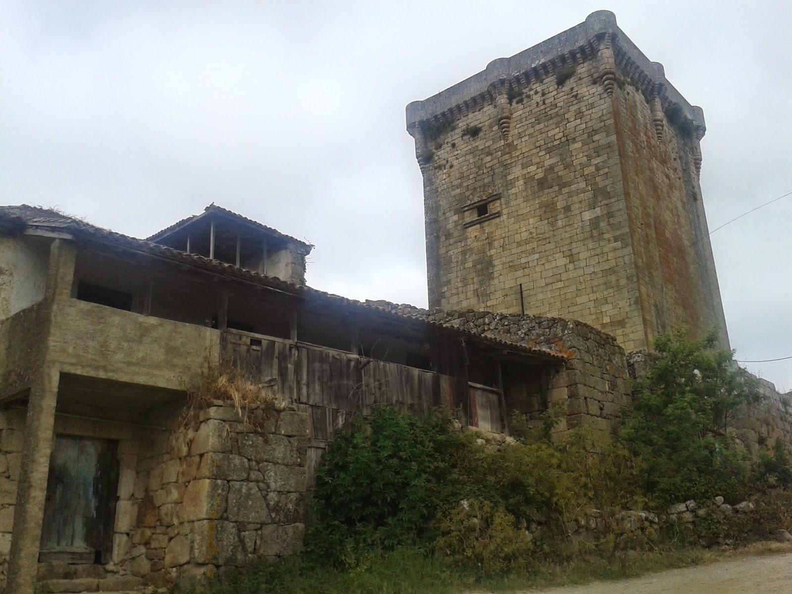Castillo de Monterrei Torre del Homenaje