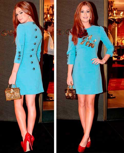 Evento Dolce Gabbana com Marina Rui Barbosa