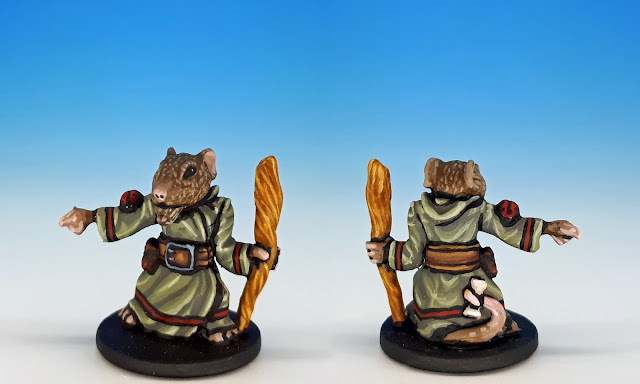 Maginos painted miniature for Mice and Mystics