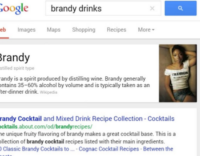 Google and Brandy: A Sober Mistake