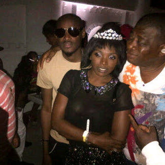 annie idibia bridal shower