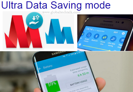 What is Ultra Data Saving Mode in Samsung Mobile Phone ?