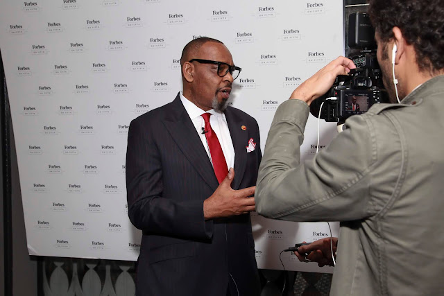 Aiteo staff dazzled in New York when their boss picks Forbes awards (pictures)