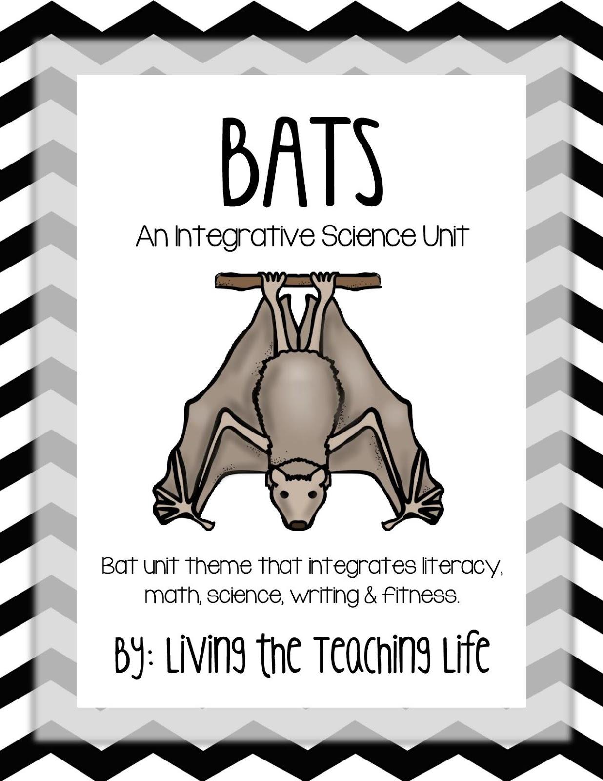 Living The Teaching Life Bat Integrative Literacy Unit