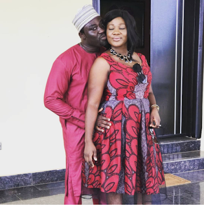 """My all in all"" Price Okojie showers his wife, Mercy Johnson with praises"