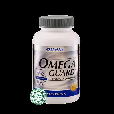 omegaguard shaklee untuk pecah lemak