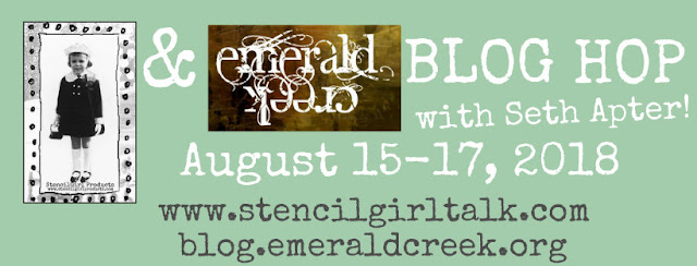 StencilGirl® Products & Emerald Creek Blog Hop