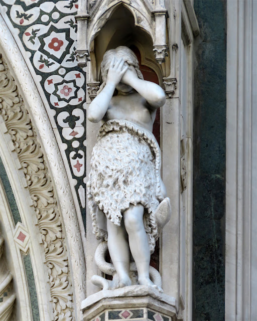 "Copy of ""Eve"" by Lot Torelli, Cathedral of Saint Mary of the Flower, Piazza del Duomo, Florence"