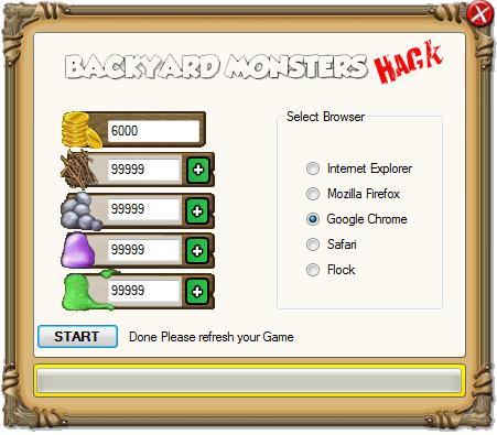 Backyard Monster Hack video games online free: backyard monsters cheats hack