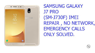 Sm J730f Fix (IMEI) Null U3 Solution 100% Tested Without Credit 100