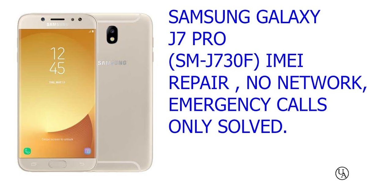 Sm J730f Fix (IMEI) Null U3 Solution 100% Tested Without
