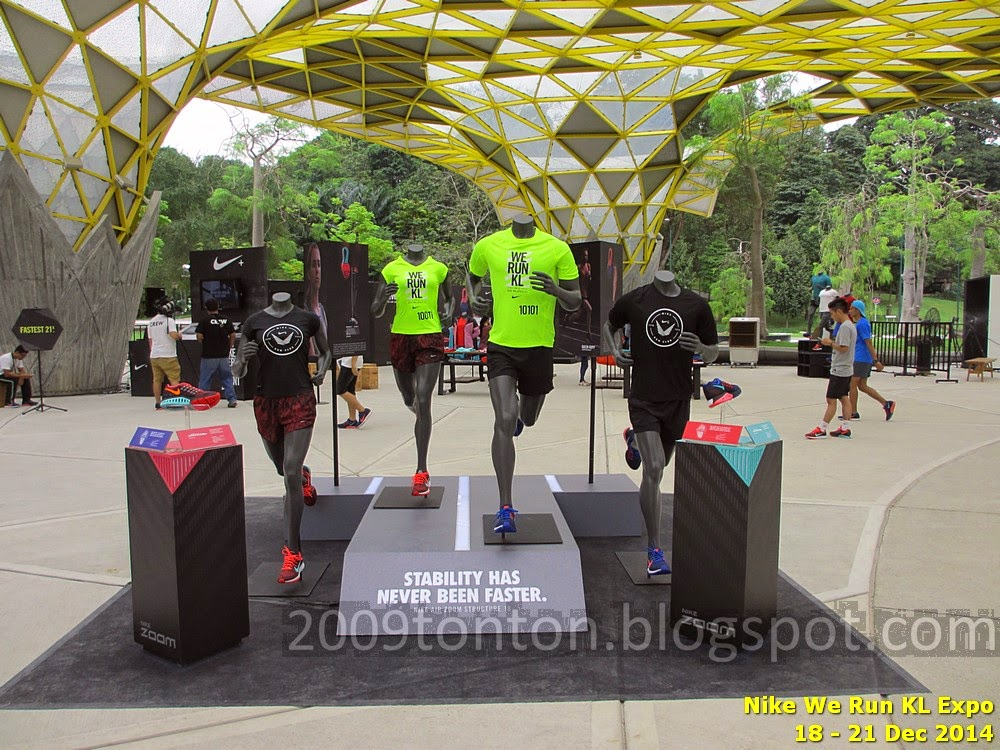 wholesale dealer 222c5 d29e8 Nike We Run KL 2015 event tee (lime green) and training tee (black)