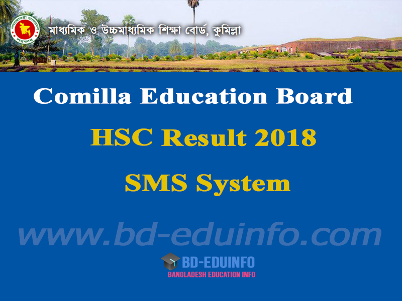 Comilla Board HSC Exam Result 2018