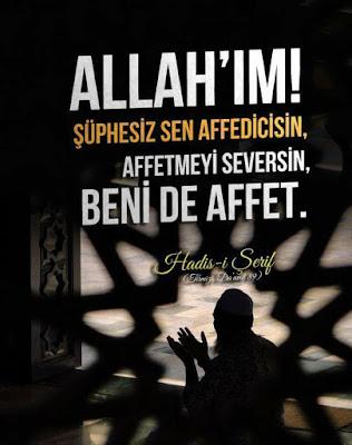 dua, affetmek, hz Muhammed, peygamber duası,