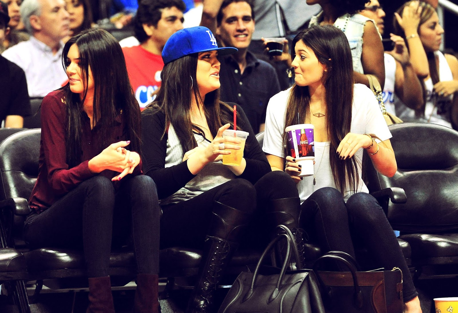10 - Watching The Los Angeles Clippers Game on October 17, 2012