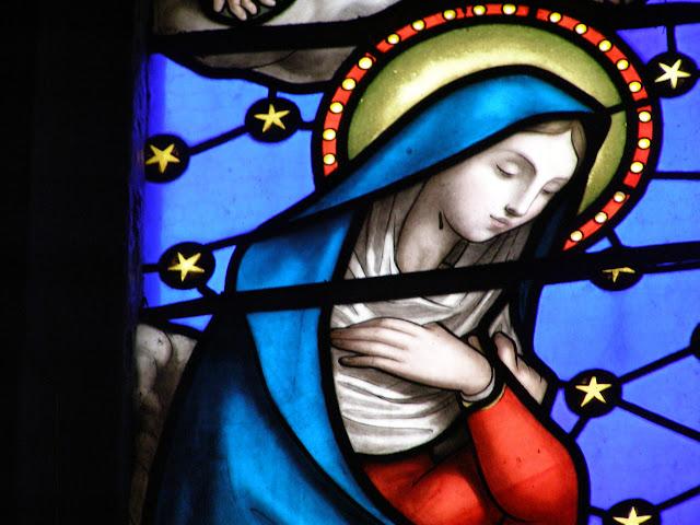 Vierge, église de Saint Just en Bas