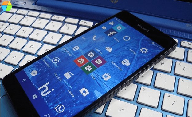 windows 10 on Lumia 950