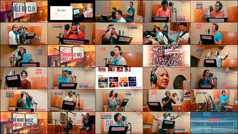 Cuba Music All Stars - ¨Dale un click¨ - Videoclip - Director: Carlos Eduardo Maristany. Portal Del Vídeo Clip Cubano