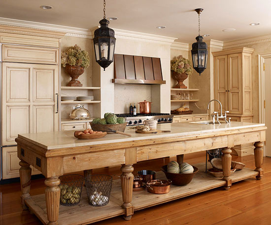 Kitchen Island On Legs kitchen island dreams - postcards from the ridge