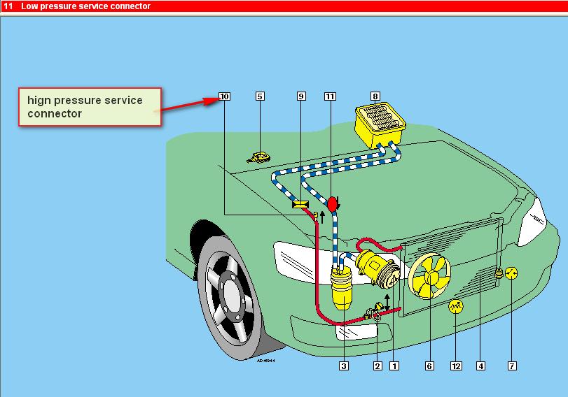 как заправить кондиционер ford focus 1
