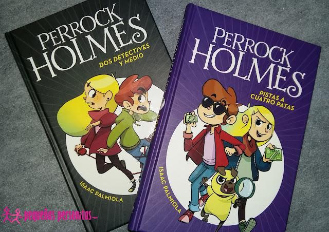 club de lectura, dos detectives y medio, libros, literatura, literatura infantil, literatura juvenil, me gusta leer, Perrock Holmes,
