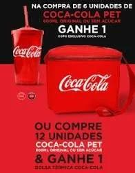 Promoção Coca-Cola 2019 Compre Ganhe Bolsa Térmica ou Copo Exclusivo