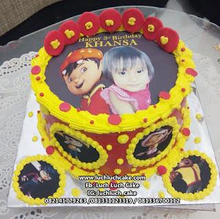 Boboiboy Edible Foto Birthday Cake