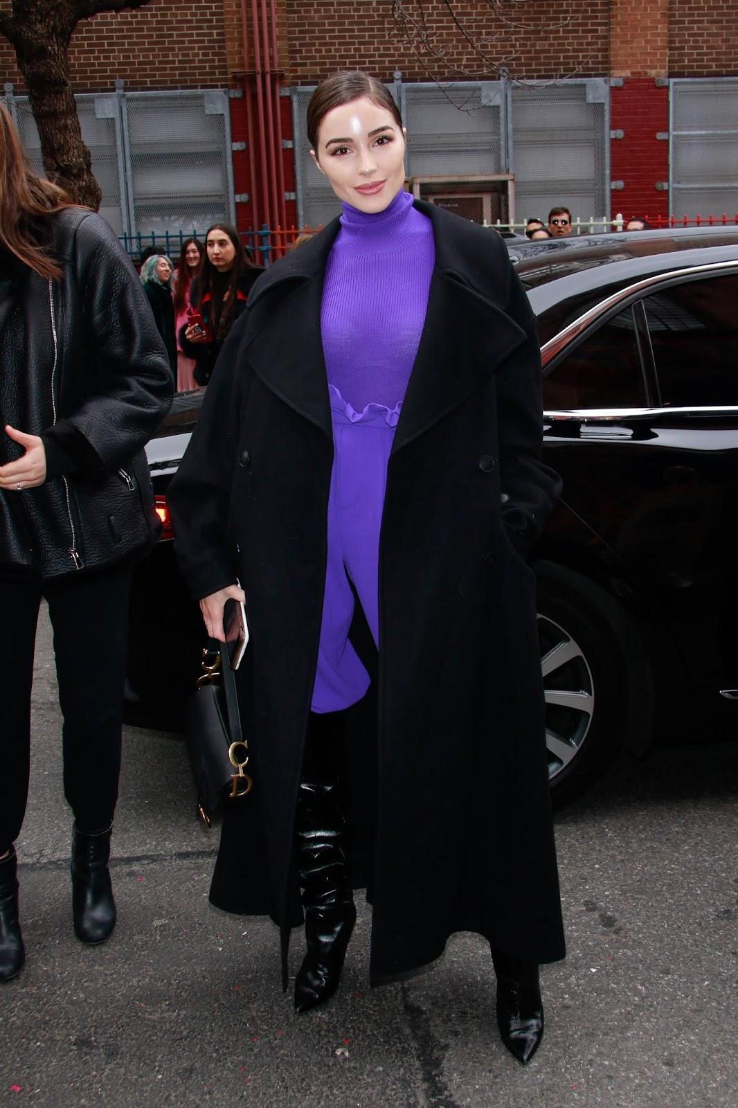 Olivia Culpo - Outside Alice + Olivia fashion show during NYFW in NYC February 11, 2019