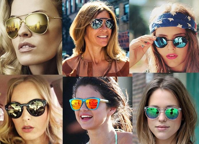 ed158d38d Os óculos de sol estilo aviador já são um clássico e vão permanecer neste  verão 2016.