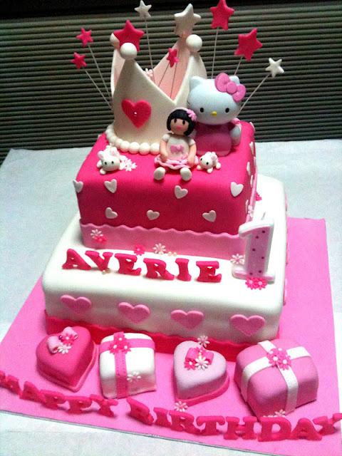 Oven Creations Happy 1st Birthday Averie