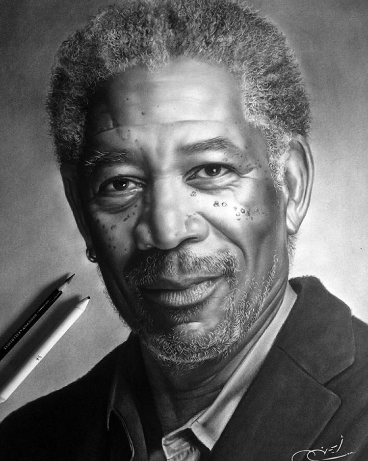 07-Morgan-Freeman-aymanarts-Realistic-Drawings-of-Celebrities-and-Other-www-designstack-co