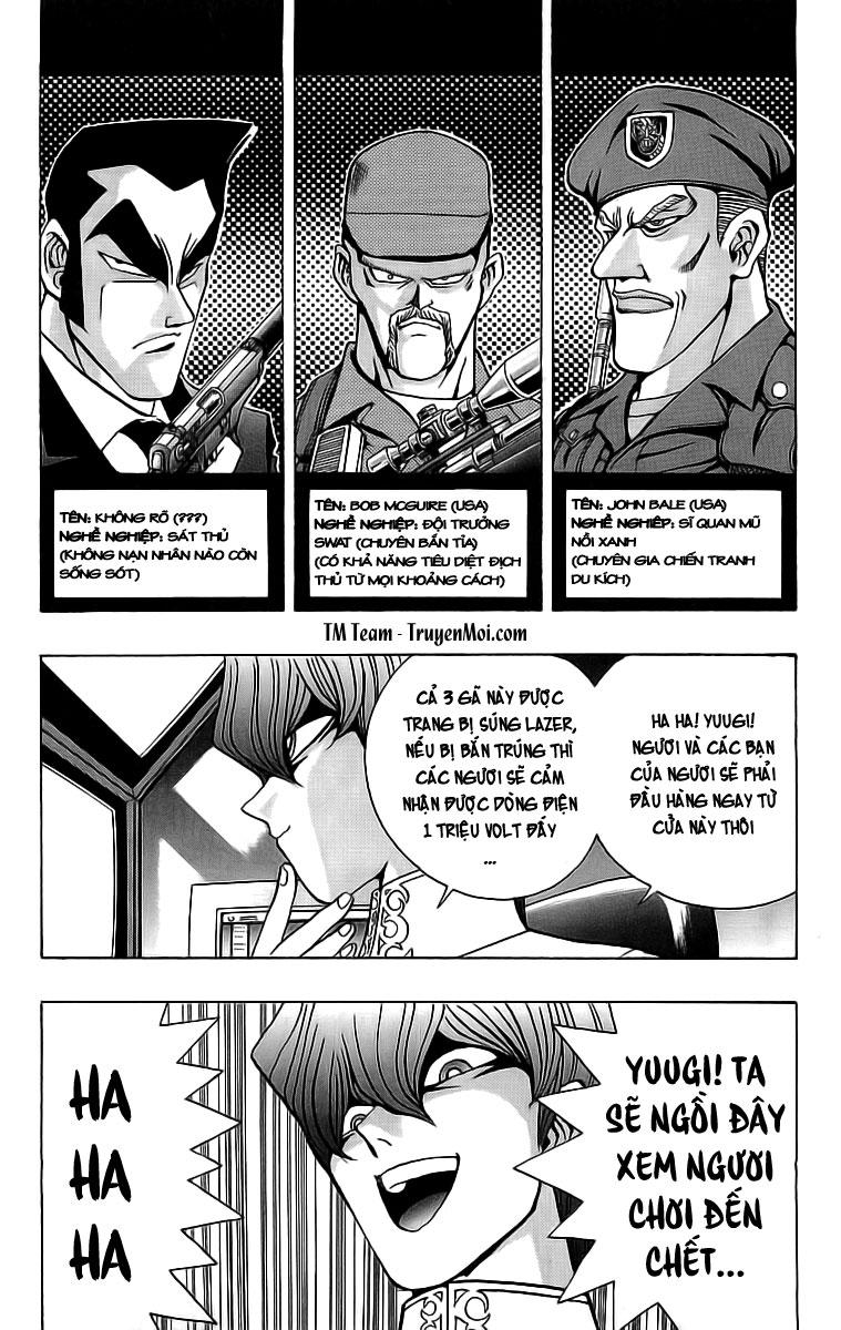 YUGI-OH! chap 28 - chiến trường đầu tiên trang 19