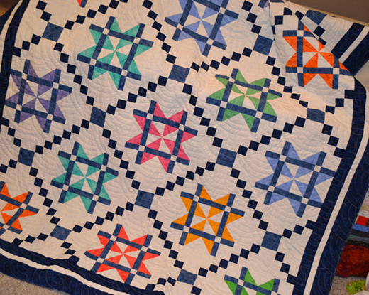 Mystery Quilt Free Pattern Designed by Judy Laquidara of Patchwork Times