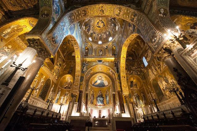 Capella Palatina em Palermo na Sicília