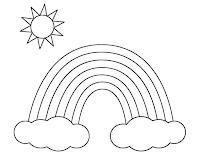 קשת בענן לצביעה