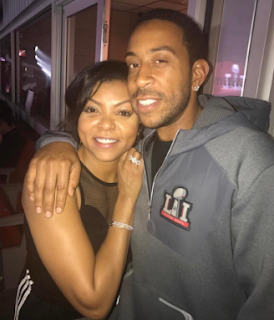 Taraji P. Henson Super Bowl 2017 Ludacris