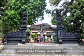 Pintu gerbang taman wisata curugsewu | Wonderful Indonesia