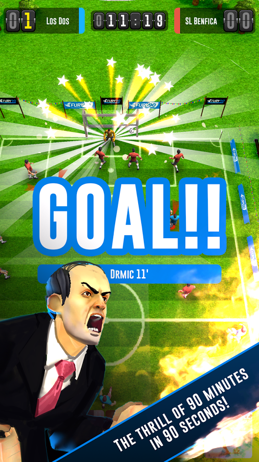 Fury 90 Soccer Manager MOD APK