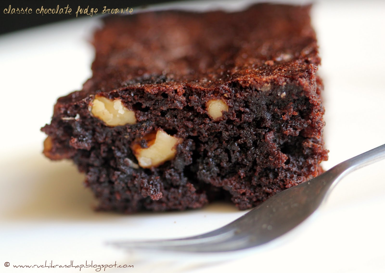 brownie recipe in india
