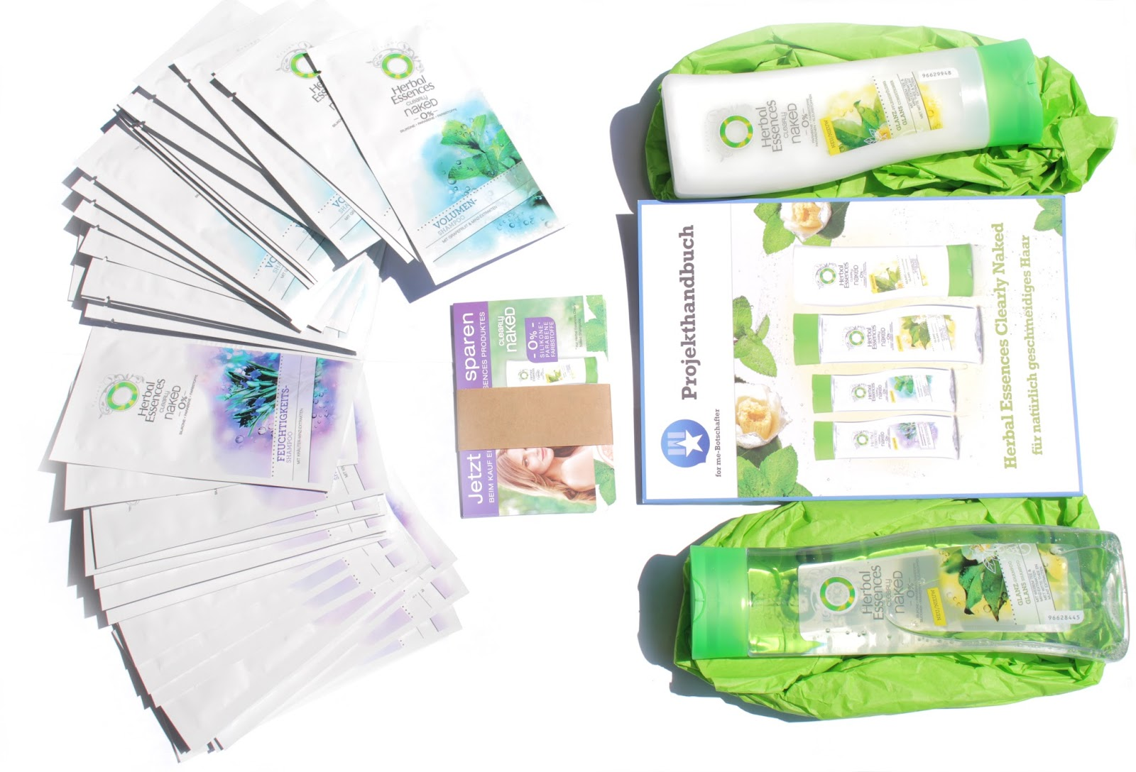herbal essences clearly glanz pflegeserie review another