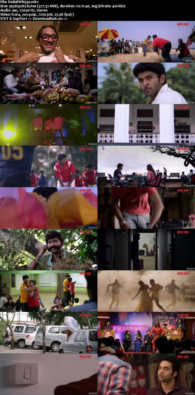 Do Balwaan 2018 Hindi Dubbed 480p HDRip